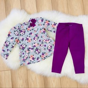 Baby Girl set 2pc size 9 months